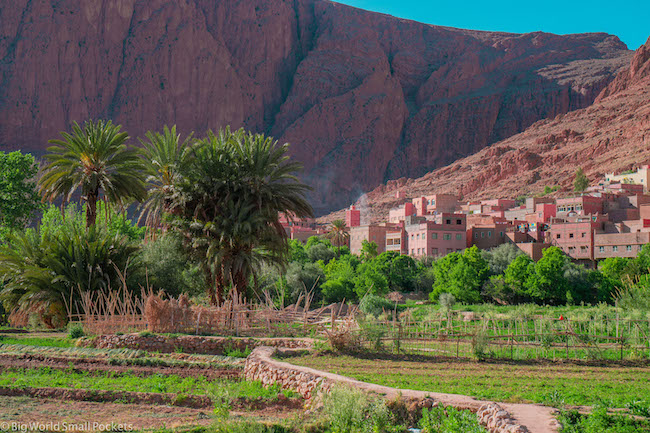 Morocco, Todra Gorge, Ait Baha
