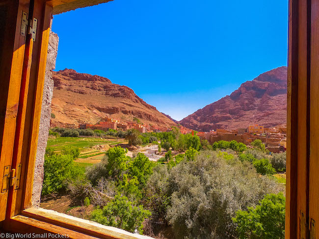 Morocco, Todra Gorge, Kasbah Des Piramides
