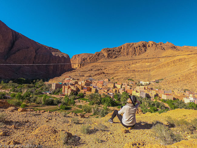Morocco, Todra Gorge, Me and Ait Baha