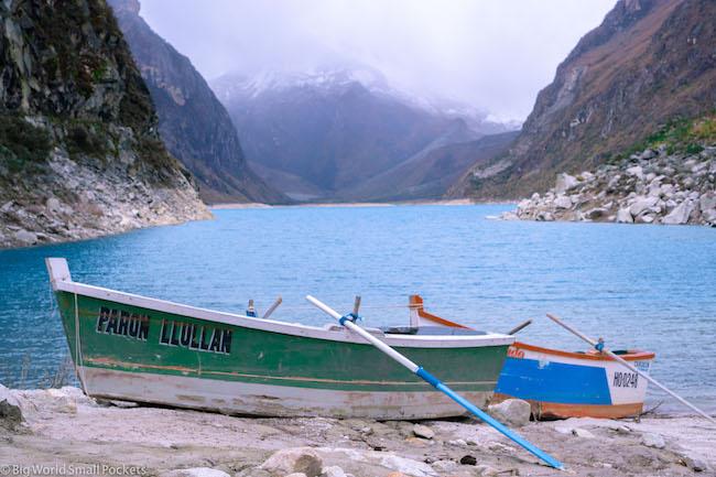 Peru, Lake Peron, Boat