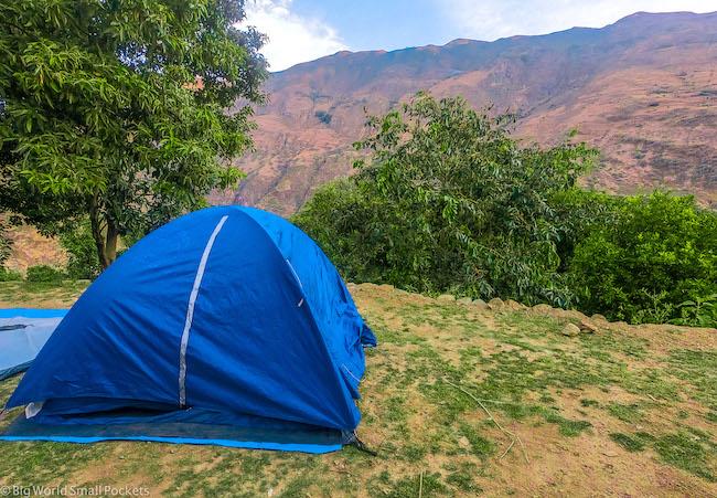 Peru, Sacred Valley, Camping