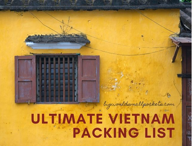 Ultimate Vietnam Packing List