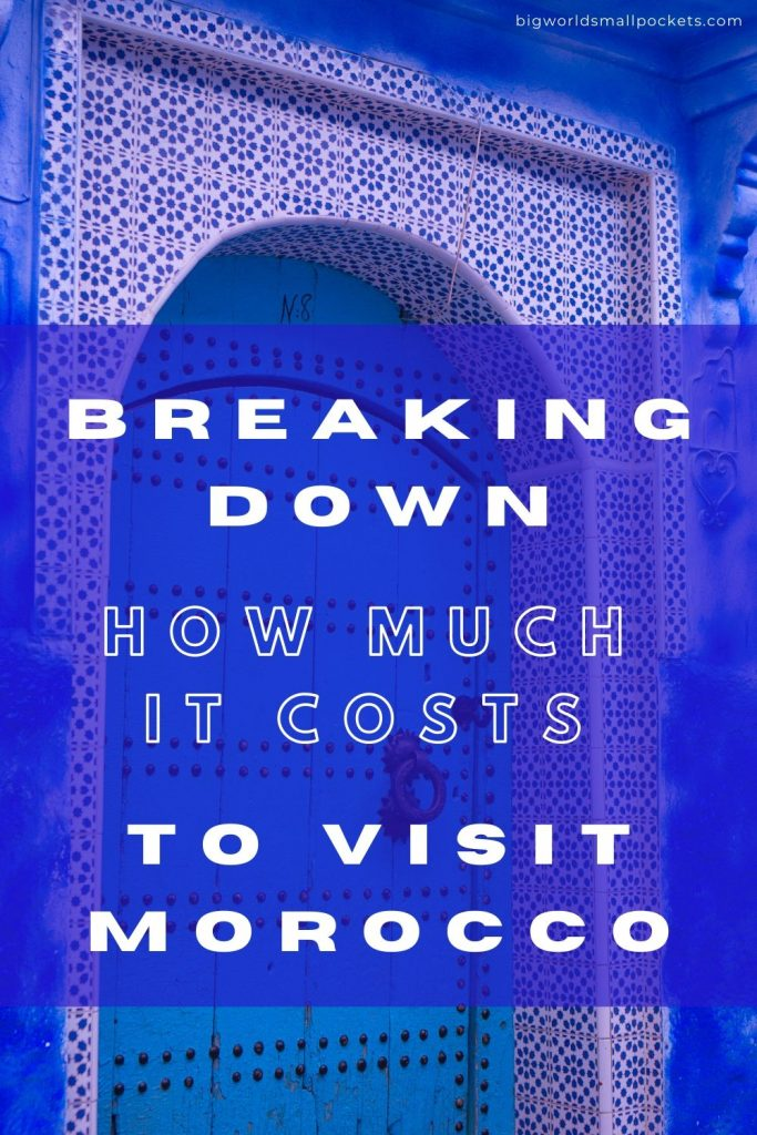 An Exact Breakdown of How Much it Costs to Visit Morocco