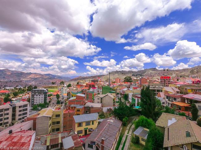 Bolivia, La Paz, Aerial View