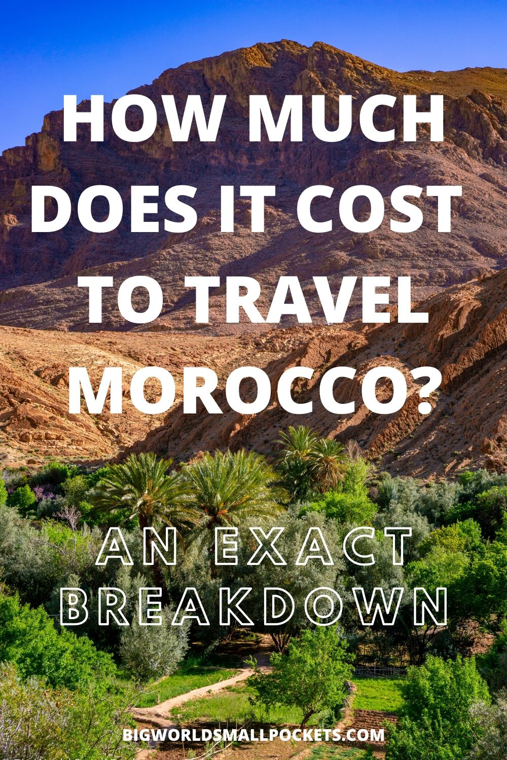 How Much Does It Cost to Visit Morocco? Here's a Full Budget Breakdown!