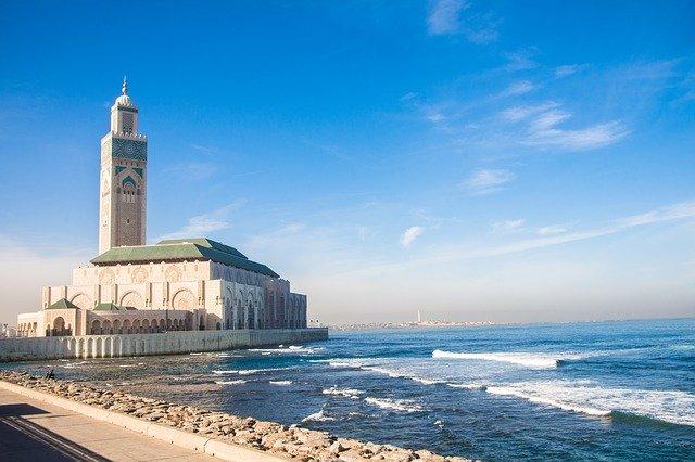 Morocco, Casablanca, Mosque