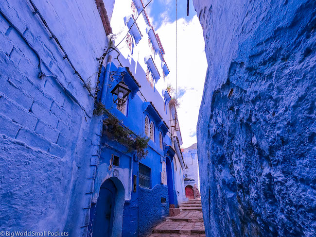 Morocco, Chefchaouen, Streets
