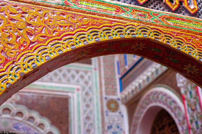 Morocco, Medina, Decoration