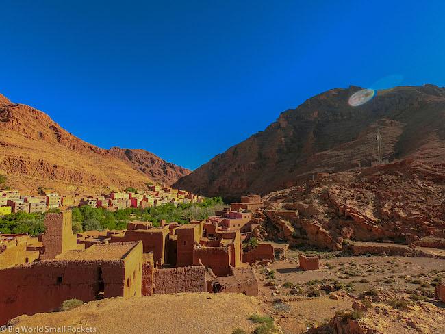 Morocco, Mountains ,Town