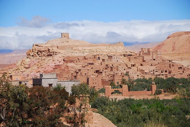 Morocco, Ouarzazate, Kasbah