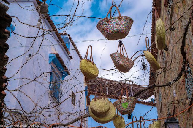 Morocco, Street, Baskets