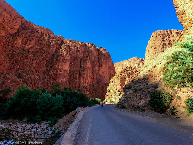 Morocco, Todra Gorge, Road