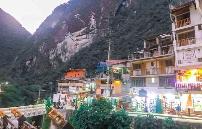 Peru, Machu Picchu, Aguas Calientes