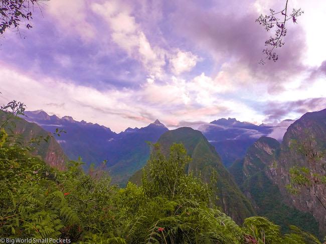 Peru, Machu Picchu, Andes