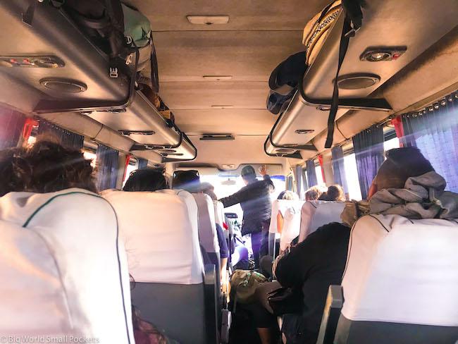 Peru, Machu Picchu, Bus