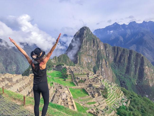 Peru, Machu Picchu, Me