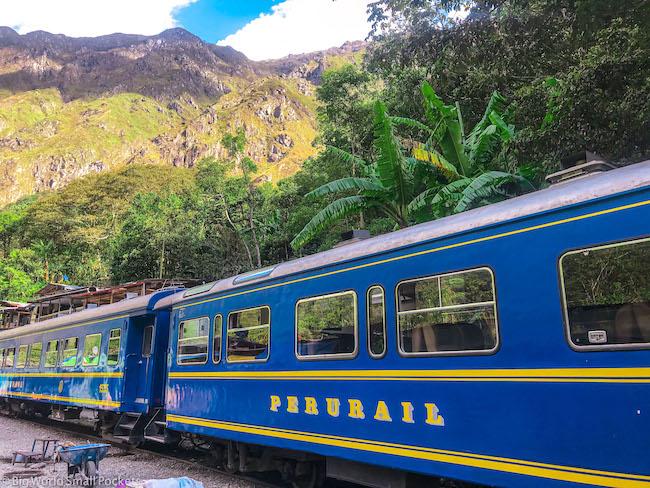 Peru, Machu Picchu, Train