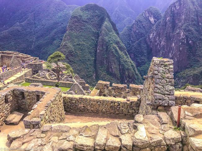 Peru, Machu Picchu, Walls