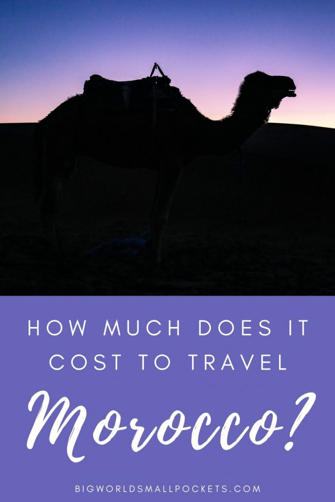What Does it Cost to Travel in Morocco?