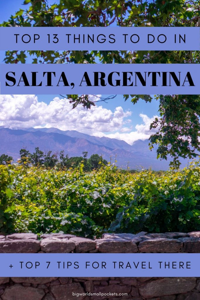 13 Best Things To Do in Salta, Argentina (+ Top 7 Tips For Travel There)
