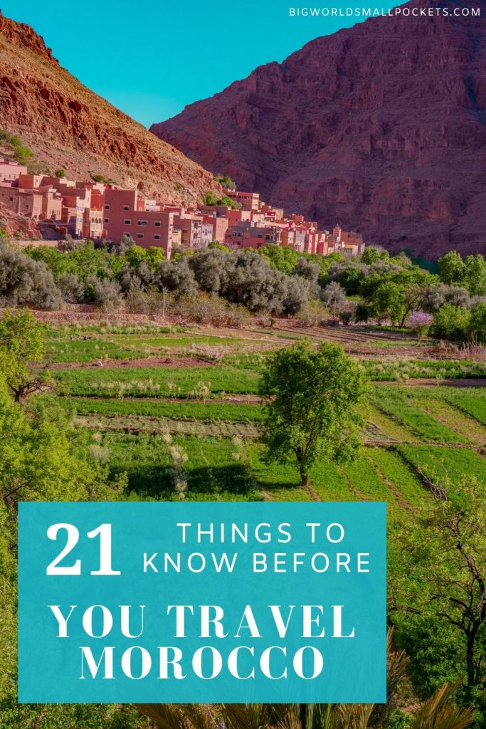 21 Things You Need to Know Before You Travel to Morocco