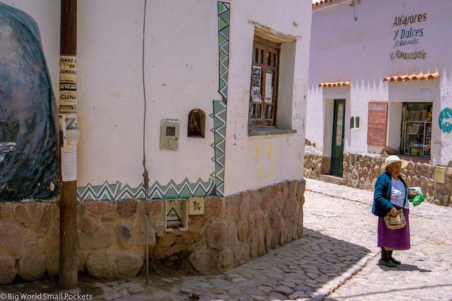 Argentina, Humahuaca, Lady