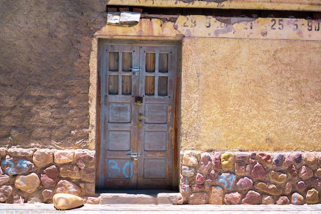 Argentina, Salta, Doorway