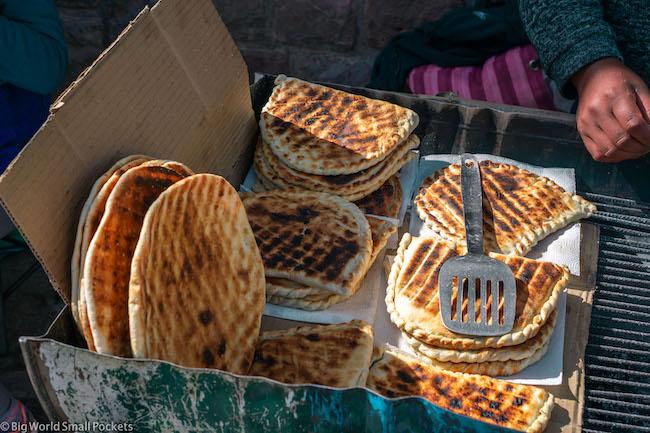 Argentina, Street Food, Tortilla Rellenos