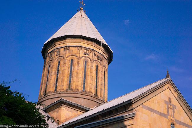 Georgia, Tbilisi, Monastery