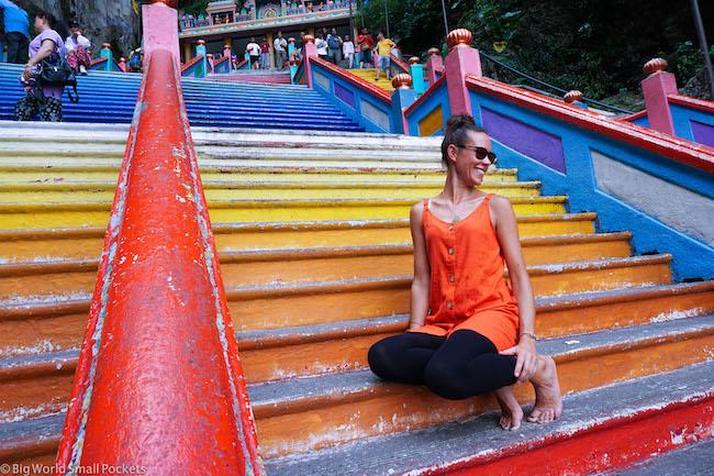 Kuala Lumpur, Batu Caves, Me