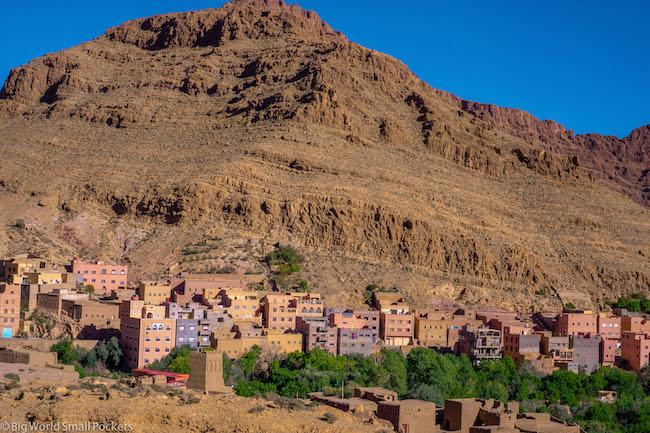Morocco, Gorge, Village