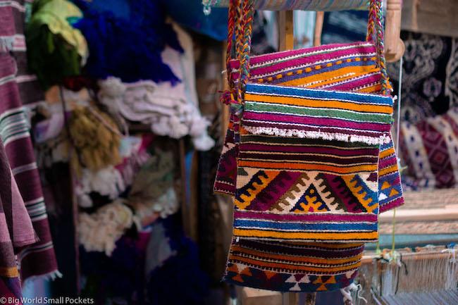 Morocco, Souveniers, Bags