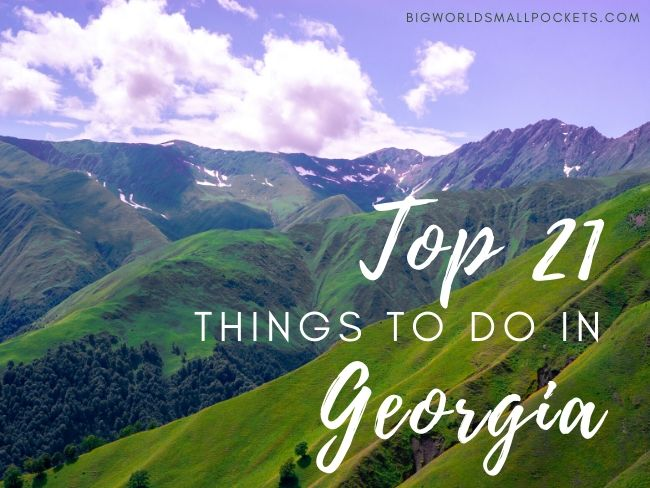 The Top 21 Things To Do in Georgia