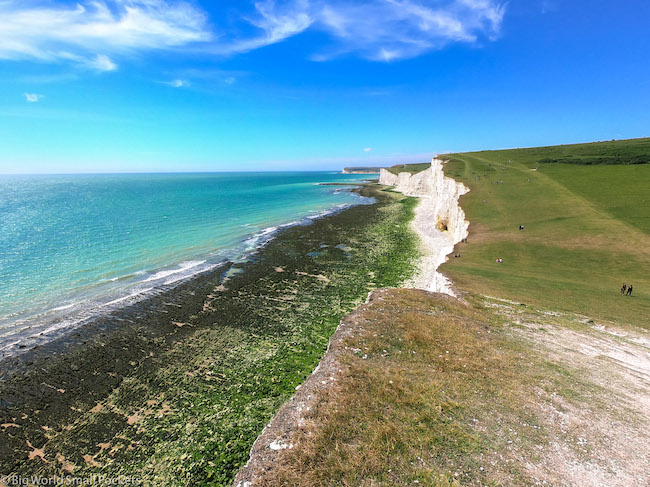 England, Sussex, Seven Sisters Cliffs