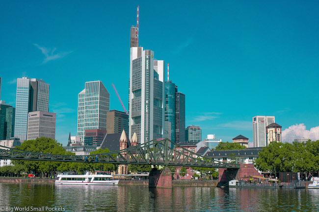 Germany, Frankfurt, City View