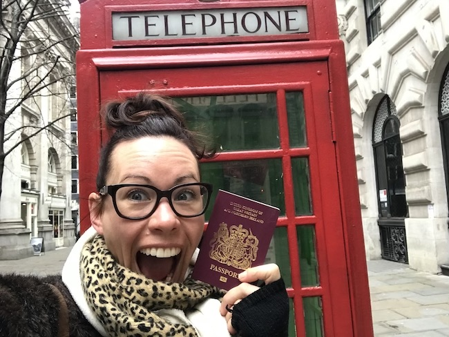 London, Phone Box, Passport & Me