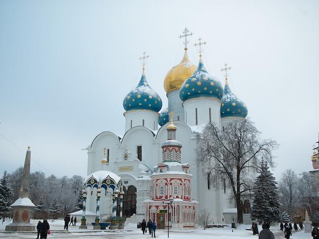 Russia, Monastery, Snow
