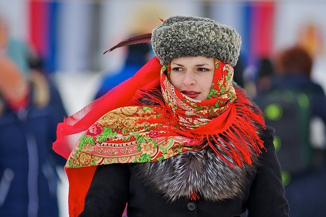 Russia, Woman, Outdoors