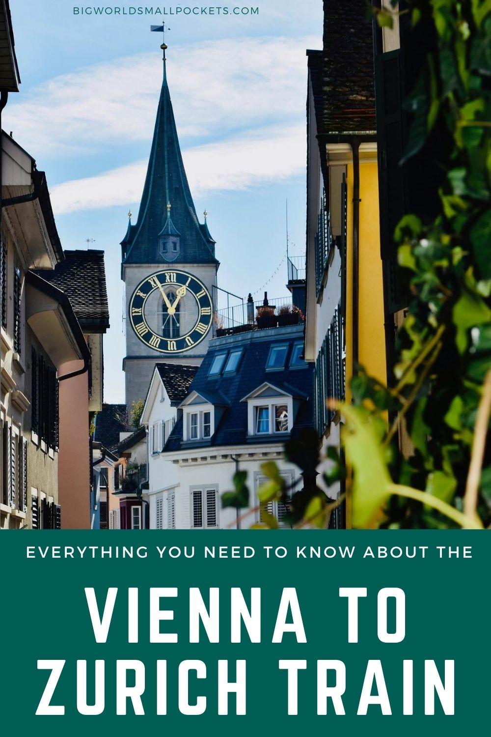 A Complete Guide to Catching the Vienna to Zurich Train
