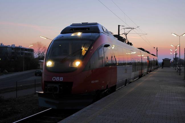 Austria, Vienna, Railway