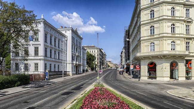 Austria, Vienna, Streets