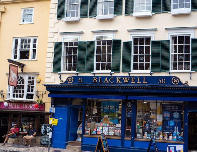 England, Oxford, Blackwells