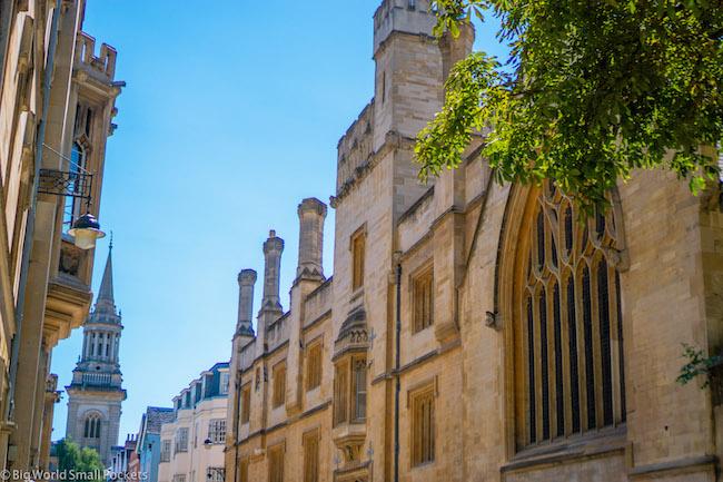 England, Oxford, Blue Sky