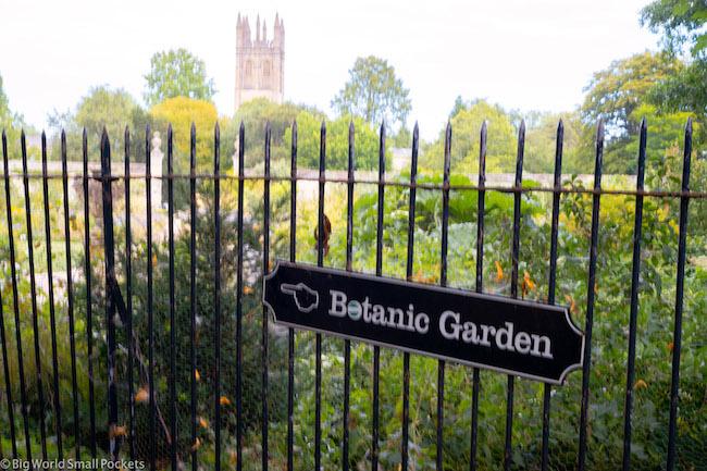 England, Oxford, Botanic Gardens