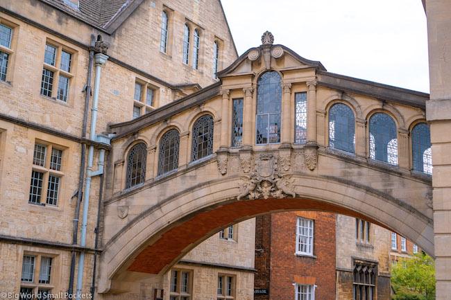 England, Oxford, Bridge of Sighs