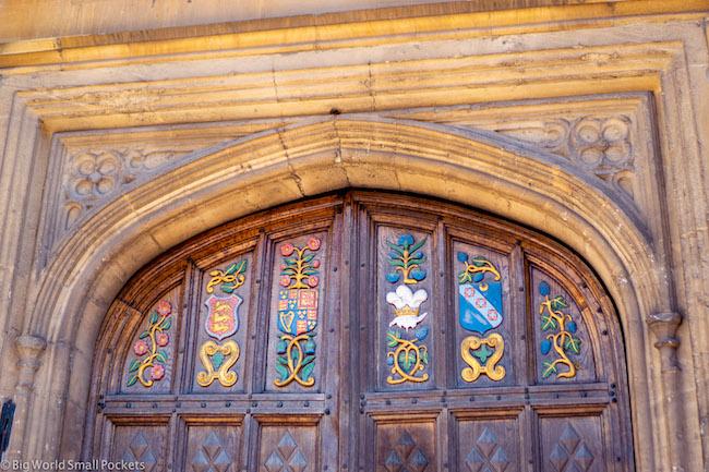 England, Oxford, Doorway