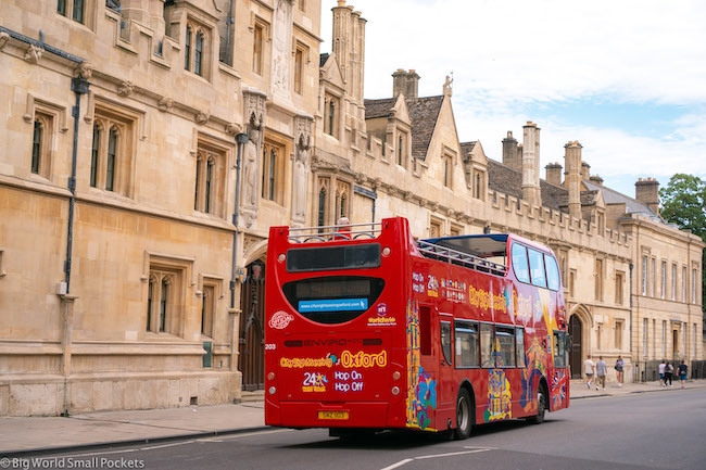 England, Oxford, Sightseeing Bus