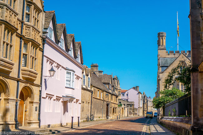 England, Oxford, Street