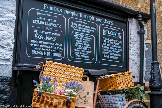 England, Oxford, Turf Tavern
