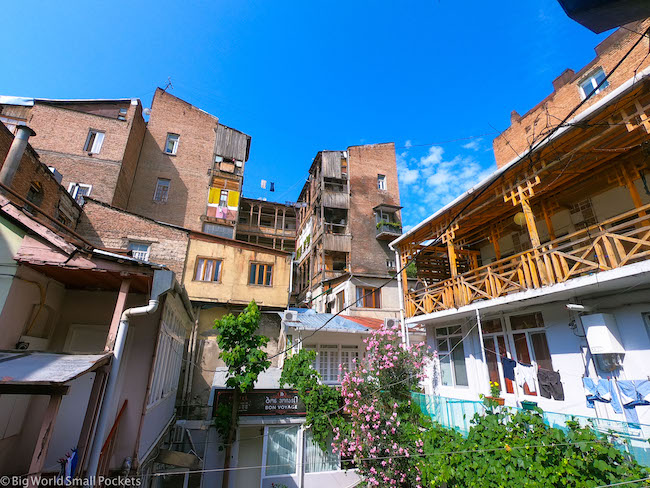 Georgia, Tbilisi, Buildings